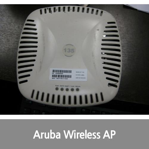 [중고][Aruba][무선AP] AP-135 Instant Wireless Access Point MIMO AP-135