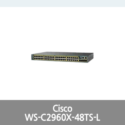 [Cisco] Catalyst 2960X-48TS-L Managed Ethernet Switch