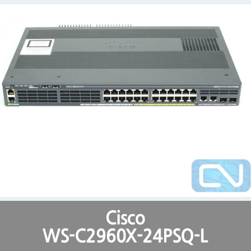 [Cisco] Catalyst 2960-X Series 24 Port 110W PoE+ Switch WS-C2960X-24PSQ-L