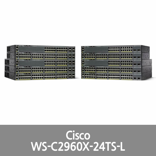 [Cisco] Catalyst 2960X-24TS-L Ethernet Switch (WS-C2960X-24TS-L)