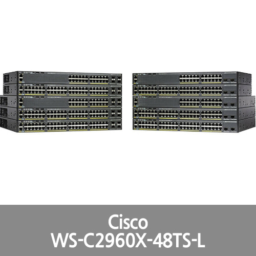 [Cisco] Catalyst 2960 X 48 GigE LAN