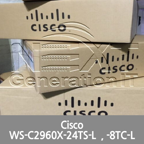 [Cisco] 4x WS-C2960X-24TS-L 1x WS-C2960CX-8TC-L 1x SG350XG-24T-K9 Switch