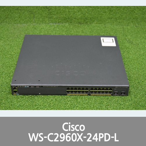 [Cisco] Catalyst 2960-X Series WS-C2960X-24PD-L 24 Ports PoE Switch - 1 YrWty