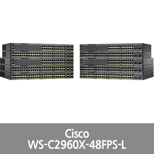 [Cisco] Catalyst 2960 X 48 GigE PoE