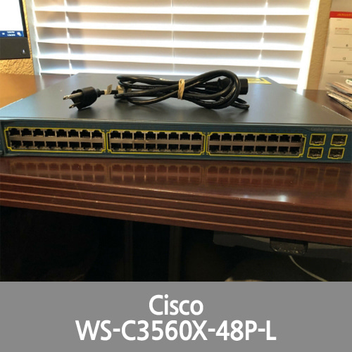 [Cisco] Catalyst 3560 Series WS-C3560-48PS-S 48-Port PoE