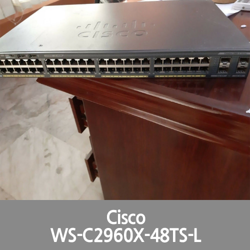 [Cisco] 2960X WS-C2960X-48TS-L 48 Ports GIGA Switch Clean Serial Good condition
