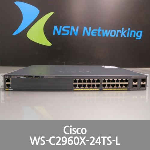 [Cisco] Catalyst 2960-X WS-C2960X-24TS-L V03 24-Port Managed Gigabit Switch