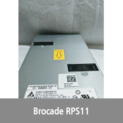 [중고][Brocade] 2 of Brocade RPS11 300W AC PWR SUPPLY FOR TURBOIRON 24X