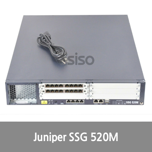 [Juniper] SSG520M-SH JUNIPER Secure Services Gateway Firewall