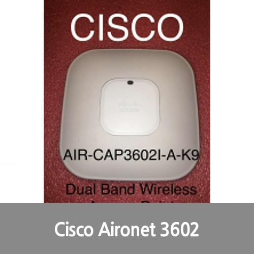 [중고][Cisco][무선AP] AIR-CAP3602I-A-K9 Aironet Wireless Access Point