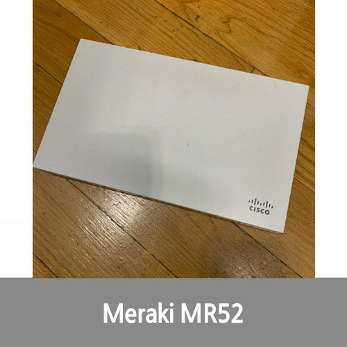[신품][Cisco][무선AP] Meraki MR52-HW Cloud Access Point MR52 Unclaimed