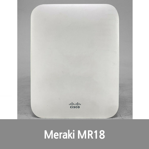 [중고][Cisco][무선AP] Meraki MR18-HW Dual-Band Cloud-Managed Wireless Access Point Unclaimed