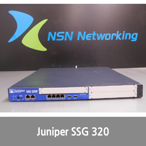 [Juniper] Networks SSG-320M-SH 4-Port Secure Services Gateway