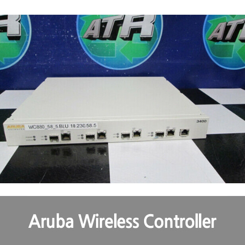 [중고][Aruba][무선컨트롤러] Networks 3400-US 3000 Series 4-Port Wireless Mobility Controller Switch