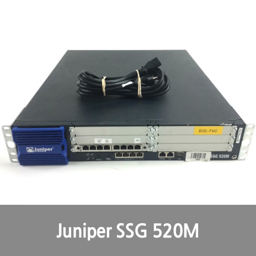 [Juniper] Networks SSG-520M-SH Secure Services Gateway VPN/Firewall SSG520M