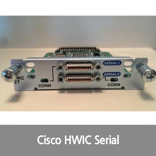 [Cisco][시리얼포트] HWIC-2T 2-Port High-Speed Asynchronous Serial WAN Interface Card 1Year Wrr