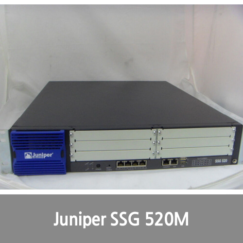 [Juniper] SSG-520M-SH - Juniper SECURE SERVICES GATEWAY 520M