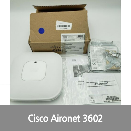 [신품][Cisco][무선AP] AIR-CAP3602I-A-K9 Aironet Dual Band Access Point Wireless + Brackets