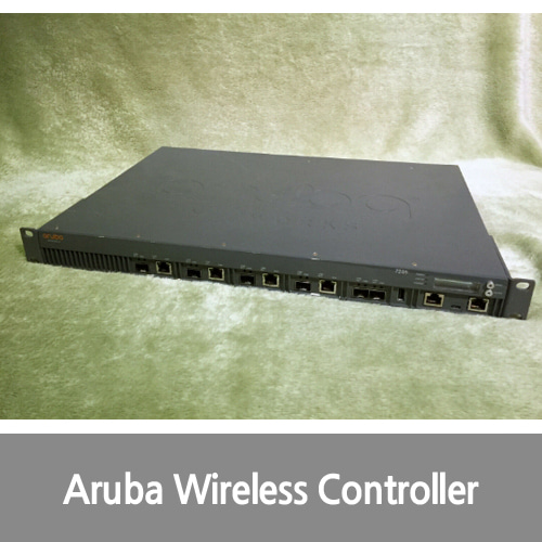 [중고][Aruba][무선컨트롤러] HPE / Aruba 7205 Wireless Controller WITH 35 AP & NG-PEF full licenses