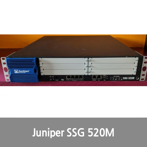 [Juniper] SSG 520M SH Networking Security Appliance Gateway Firewall