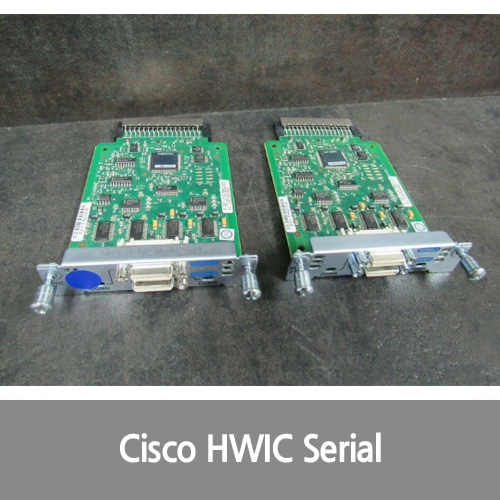 [Cisco][시리얼포트] HWIC-2T 2-Port Serial Interface Card 73-13317-01 Mouse over to Zoom