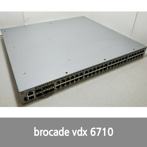 [Brocade] BROCADE BR-VDX6710-54-F 48 PORT GIGABIT SWITCH