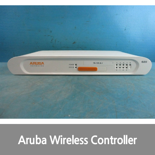 [중고][Aruba][무선컨트롤러] 620-US Wireless Controller 4 POE+ 1 Gigabit Network Uplink without license