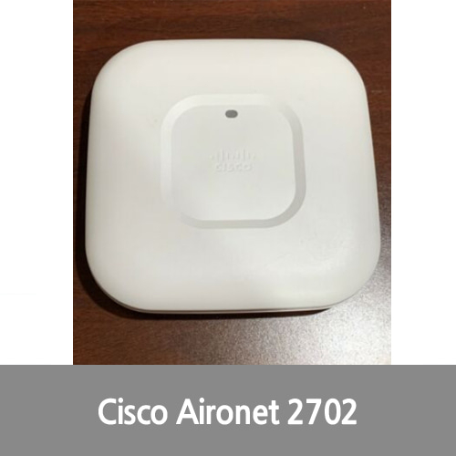 [중고][Cisco][무선AP] AIR-CAP2702I-E-K9 Aironet 2702i Wireless Access Point - White