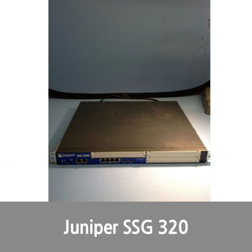 [Juniper] SSG 320M Secure Services Gateway SSG-320M-SH w/ Power Cable, rack mounts