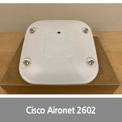 [중고][Cisco][무선AP] AIR-CAP2602E-A-K9 Aironet 2600 Wireless Access Point (Free same day ship)