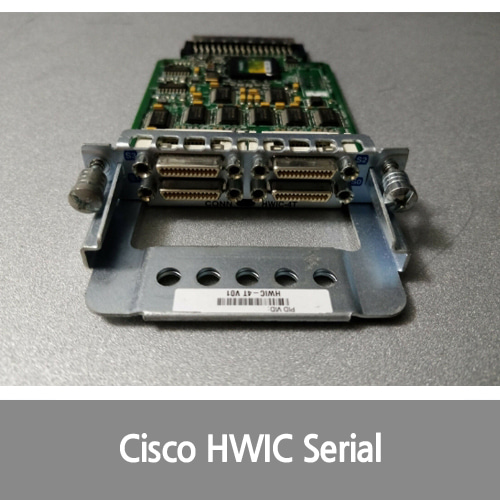 [Cisco][시리얼포트] HWIC-4T 4-Port High-Speed Serial WAN Interface Card, fully tested