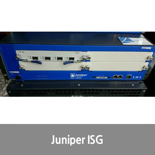 [Juniper] Networks NetScreen-ISG 2000 w/ ISG GB4 (NS-ISG-TX4) & Dual Power