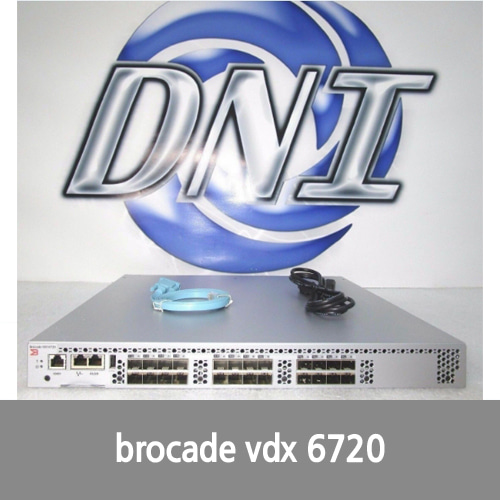 [Brocade] Brocade BR-VDX6720-24-R VDX 6720-24-R Modular Switch Managed 24x SFP+ 10Gb JMW