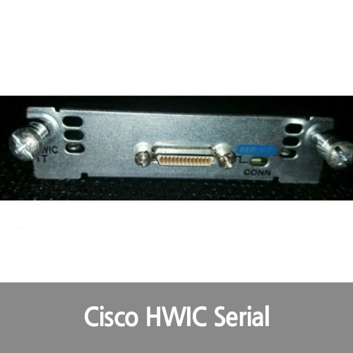 [Cisco][시리얼포트] HWIC-1T 1 Port Serial WAN Interface Card For 1841/1941/2800/3800/3900