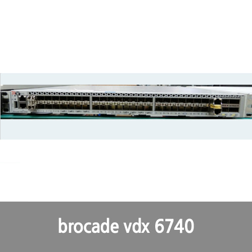 [Brocade] Brocade VDX-6740 48 Port Switch with 2 PSU (7757499)