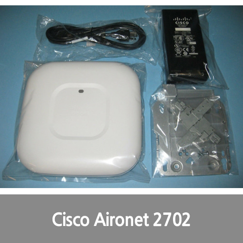 [중고][Cisco][무선AP] Aironet 2702I Stand-Alone Wireless AP AIR-CAP2702I-A-K9 & PoE Injector Kit