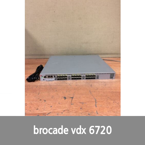 [Brocade] BROCADE VDX 6720 MANAGED SWITCH BR-VDX6720-24 Working Free Shipping