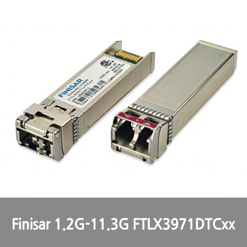 [Finisar][광모듈] 1.2G-11.3G 40km Industrial Temperature DWDM SFP+ Optical Transceiver FTLX3971DTCxx
