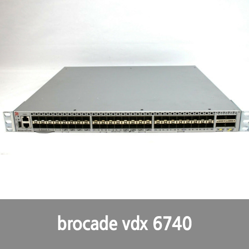 [Brocade] Brocade VDX 6740 - switch - 24 ports - rack-mountable