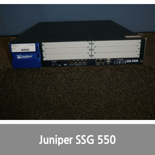 [Juniper] Networks SSG-550M-SH Secure Services Gateway