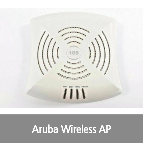 [중고][Aruba][무선AP] Networks AP-105 Wireless Wi-Fi Dual Band Access Point PoE 802.11 a/b/g/n