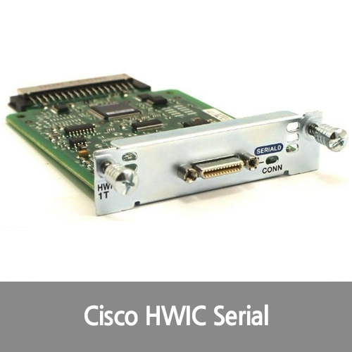 [Cisco][시리얼포트] HWIC-1T 1-Port Serial WAN Interface Card Expansion Module - NIB Mouse over to Zoom