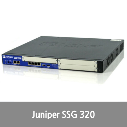 [Juniper] SSG-320M-SH Networks Secure Services Gateway NO Rack Ears