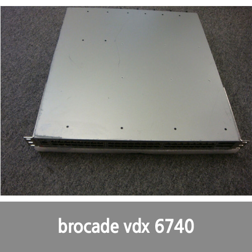 [Brocade] BR-VDX6740T-48-R Brocade VDX 6740T 48-Port 10G and 4-Port 40G Managed Switch