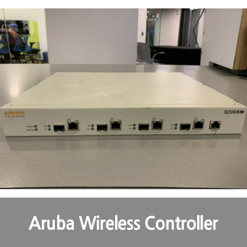 [중고][Aruba][무선컨트롤러] Networks 3200xm Wireless Lan Controller - 4 X Network (rj-45) USED, Good