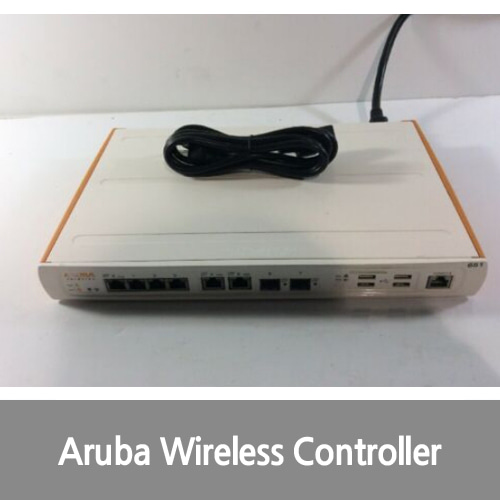 [중고][Aruba][무선컨트롤러] 651-US 8-Port Ethernet Wireless LAN Branch Office Controller - AM