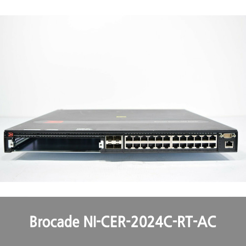 [중고][Brocade]NI-CER-2024C-RT-AC