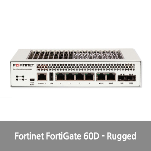 [신품][Fortinet] FortiGate 60D - Rugged