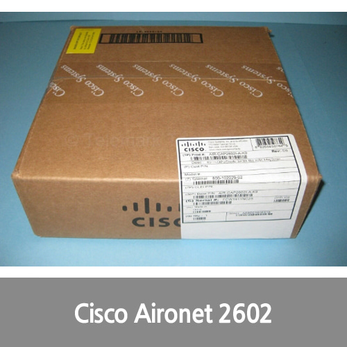 [신품][Cisco][무선AP] Aironet 2602I Wireless Access Point AIR-CAP2602I-A-K9 CleanAir New Sealed