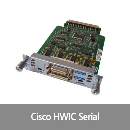 [Cisco][시리얼포트] HWIC-2T Tested 2-Port Serial WAN Interface Card 1 Year Warranty
